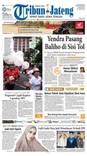 Cover Tribun Jateng 17 Desember 2018