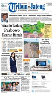 Cover Tribun Jateng 19 Desember 2018