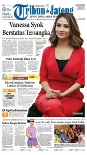 Cover Tribun Jateng 17 Januari 2019