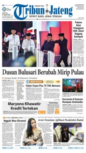 Cover Tribun Jateng 18 Januari 2019
