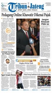 Cover Tribun Jateng 21 Januari 2019