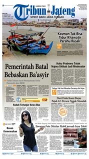 Cover Tribun Jateng 23 Januari 2019