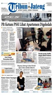 Cover Tribun Jateng 16 Februari 2019