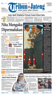 Tribun Jateng Cover 18 February 2019