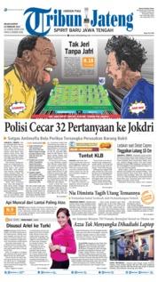 Cover Tribun Jateng 19 Februari 2019