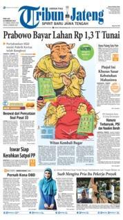 Cover Tribun Jateng 20 Februari 2019
