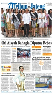 Tribun Jateng Cover 12 March 2019