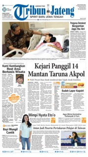 Tribun Jateng Cover 14 March 2019