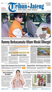 Tribun Jateng Cover 17 March 2019