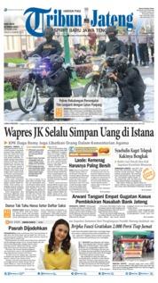 Cover Tribun Jateng 20 Maret 2019