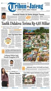 Cover Tribun Jateng 21 Maret 2019