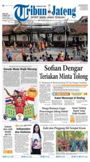 Tribun Jateng Cover 22 March 2019