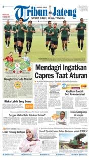 Cover Tribun Jateng 24 Maret 2019