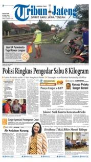 Cover Tribun Jateng 10 April 2019