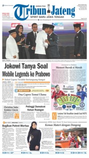 Tribun Jateng Cover 14 April 2019