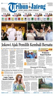 Tribun Jateng Cover 18 April 2019