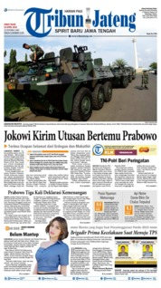 Cover Tribun Jateng 19 April 2019