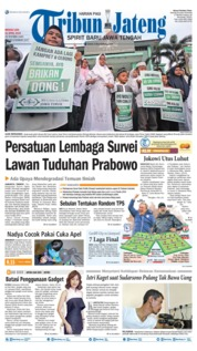 Tribun Jateng Cover 21 April 2019