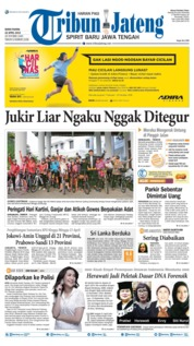 Tribun Jateng Cover 22 April 2019