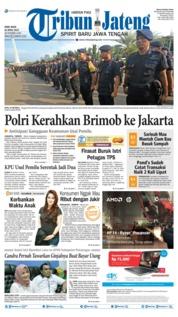 Cover Tribun Jateng 24 April 2019