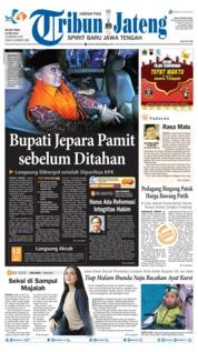 Tribun Jateng Cover 14 May 2019