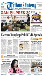 Tribun Jateng Cover 15 May 2019