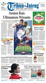 Tribun Jateng Cover 16 May 2019