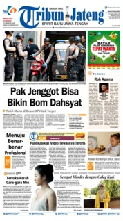 Tribun Jateng Cover 19 May 2019
