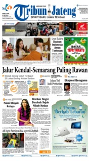 Tribun Jateng Cover 20 May 2019