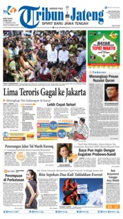 Tribun Jateng Cover 22 May 2019