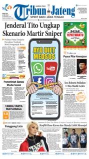 Cover Tribun Jateng 23 Mei 2019