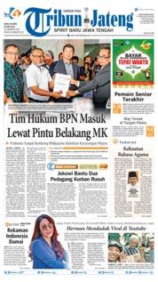 Tribun Jateng Cover 25 May 2019