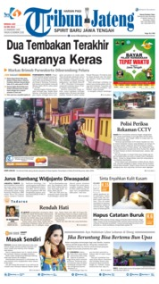 Tribun Jateng Cover 26 May 2019