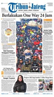 Cover Tribun Jateng 10 Juni 2019