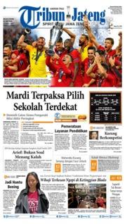 Tribun Jateng Cover 11 June 2019