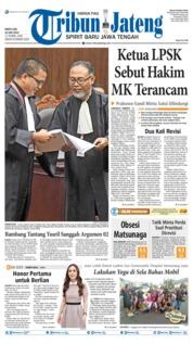 Tribun Jateng Cover 15 June 2019