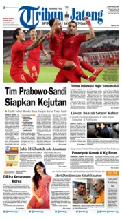 Tribun Jateng Cover 16 June 2019