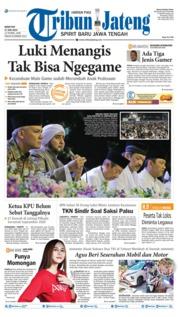 Cover Tribun Jateng 17 Juni 2019
