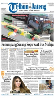 Tribun Jateng Cover 18 June 2019
