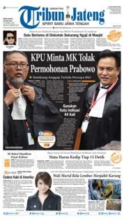 Cover Tribun Jateng 19 Juni 2019