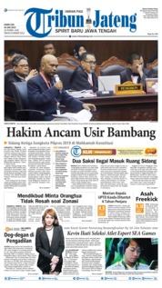 Cover Tribun Jateng 20 Juni 2019