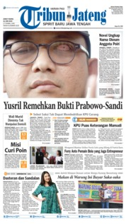 Cover Tribun Jateng 21 Juni 2019