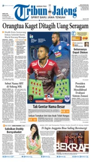 Cover Tribun Jateng 22 Juni 2019
