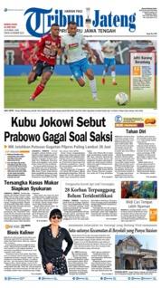 Cover Tribun Jateng 23 Juni 2019