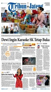 Cover Tribun Jateng 24 Juni 2019