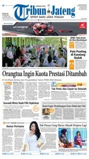 Cover Tribun Jateng 25 Juni 2019