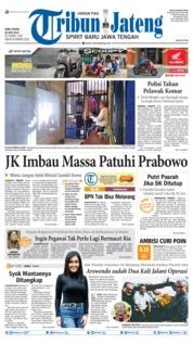 Tribun Jateng Cover 26 June 2019