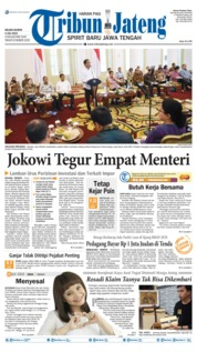 Tribun Jateng Cover 09 July 2019