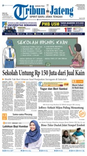 Tribun Jateng Cover 10 July 2019