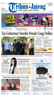 Tribun Jateng Cover 12 July 2019